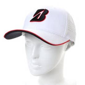 ブリヂストンゴルフ BRIDGESTONE GOLF ゴルフ キャップ BSG CPSG81 (ホワイト)