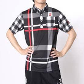 【アウトレット】ブリヂストン ゴルフ BRIDGESTONE GOLF ゴルフシャツ 16SS BGメンズハンシャツ DGM30A (ブラック)