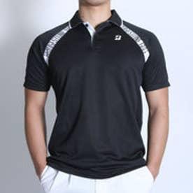 ブリヂストン ゴルフ BRIDGESTONE GOLF ゴルフシャツ 16SS BGメンズハンシャツ DGM18A (ブラック)