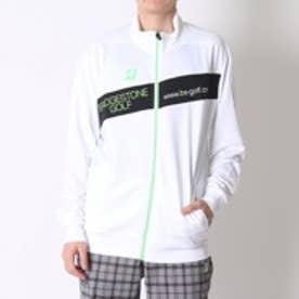 ブリヂストン ゴルフ BRIDGESTONE GOLF ゴルフトレーナー 16SS BGメンズセーター 1GDM1B (ホワイト)
