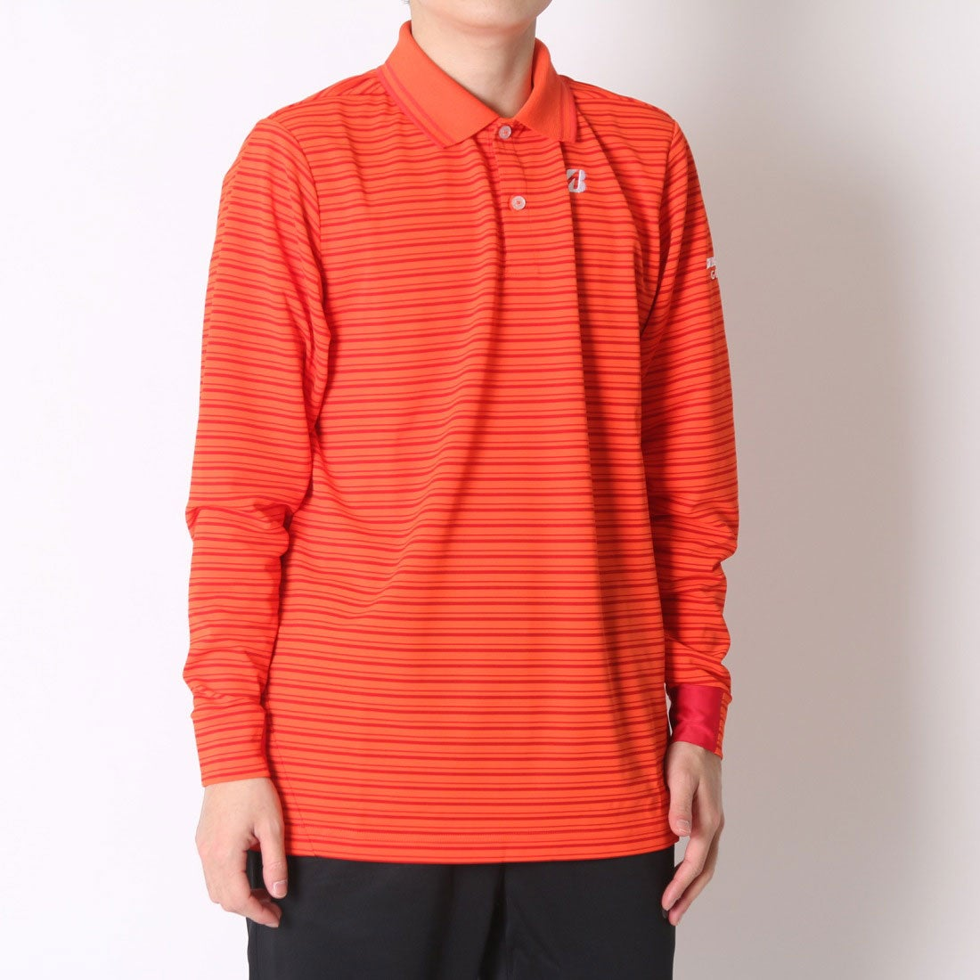 【SALE 61%OFF】【アウトレット】ブリヂストン ゴルフ BRIDGESTONE GOLF ゴルフシャツ 16SS BGメンズナガシャツ 1GDM1F (オレンジ) メンズ