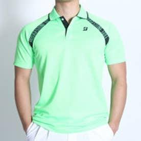 ブリヂストン ゴルフ BRIDGESTONE GOLF ゴルフシャツ 16SS BGメンズハンシャツ DGM18A (ケイコウグリーン)
