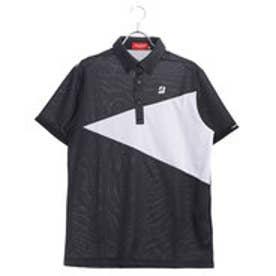 ブリヂストンゴルフ BRIDGESTONE GOLF メンズ ゴルフ 半袖 シャツ BSG JGM07A JGM07A (ブラック)