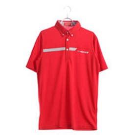 ブリヂストンゴルフ BRIDGESTONE GOLF メンズ ゴルフ 半袖 シャツ BSG 3GJ03A 3GJ03A (レッド)
