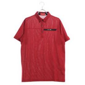 ブリヂストンゴルフ BRIDGESTONE GOLF メンズ ゴルフ 半袖 シャツ BSG JGM05A JGM05A (レッド)