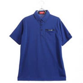 ブリヂストンゴルフ BRIDGESTONE GOLF メンズ ゴルフ 半袖 シャツ BSG JGM06A JGM06A (ブルー)