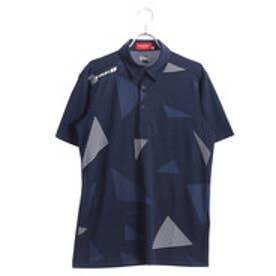 ブリヂストンゴルフ BRIDGESTONE GOLF メンズ ゴルフ 半袖 シャツ BSG 3GJ01A 3GJ01A (ネイビー)