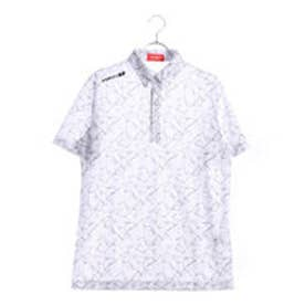 ブリヂストンゴルフ BRIDGESTONE GOLF メンズ ゴルフ 半袖 シャツ BSG 3GJ05A 3GJ05A (ホワイト)