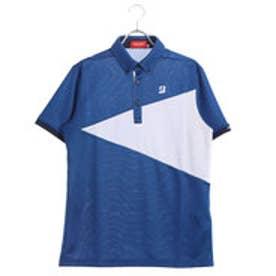 ブリヂストンゴルフ BRIDGESTONE GOLF メンズ ゴルフ 半袖 シャツ BSG JGM07A JGM07A (ブルー)