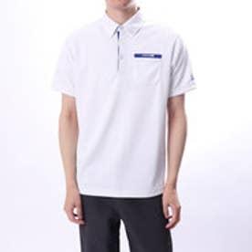 ブリヂストンゴルフ BRIDGESTONE GOLF メンズ ゴルフ 半袖 シャツ BSG JGM06A JGM06A (ホワイト)