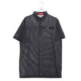 ブリヂストンゴルフ BRIDGESTONE GOLF メンズ ゴルフ 半袖 シャツ BSG JGM05A JGM05A (ブラック)