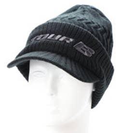 ブリヂストンゴルフ BRIDGESTONE GOLF メンズ ゴルフ ニット帽子 TOUR B ツバツキニットキャップ CPWG87 CPWG87