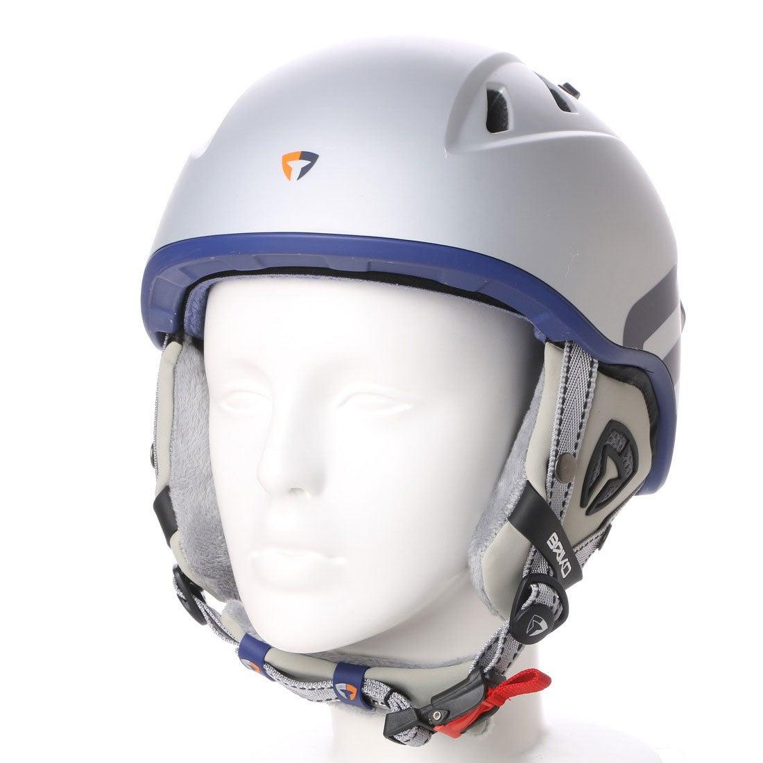 【SALE 10%OFF】ブリコ BRIKO ユニセックス スキー/スノーボード ヘルメット BRIKO SHJ009 AMAK JP SHJ009 132 (シルバー)