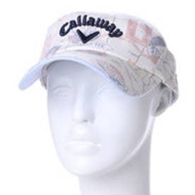 キャロウェイ Callaway メンズ ゴルフ サンバイザー マッププリントストレッチスラブツイルバイザー 7184501