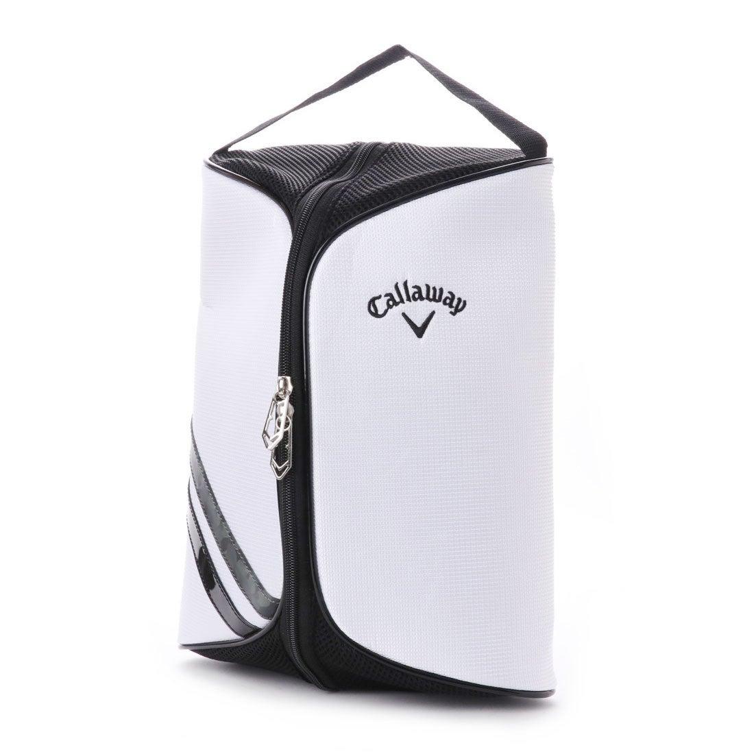 キャロウェイ Callaway メンズ ゴルフ シューズケース Callaway Sport Shoe Case 17 JM 0228346988 (ホワイト)