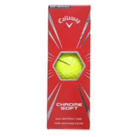 キャロウェイ Callaway ゴルフボール  CHROME SOFT16 YL