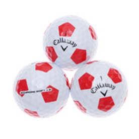 キャロウェイ Callaway ゴルフ 公認球 CHROME SOFT X TRUVIS WHITE×RED 4885997460