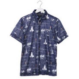 キャロウェイ Callaway メンズ ゴルフ 半袖シャツ エンシニータスプリントショートワイドカラーシャツ 7157511