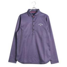キャロウェイ Callaway メンズ ゴルフ 長袖シャツ アロープリントウラキモウショートワイドカラーシャツ 7256505
