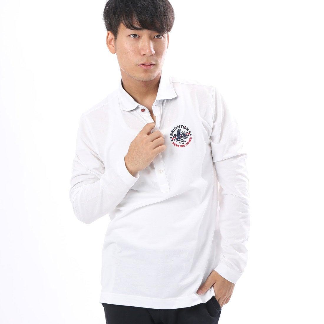 【SALE 30%OFF】キャロウェイ Callaway メンズ ゴルフ 長袖シャツ カノコワイドカラーシャツ 7256503 メンズ