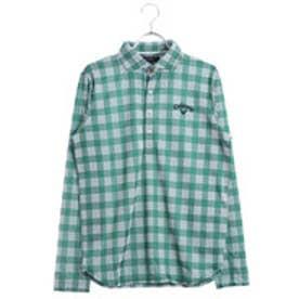 キャロウェイ Callaway メンズ ゴルフ 長袖 シャツ パラカチェックジャカードLSシャツ 2418156500
