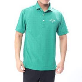 キャロウェイ Callaway メンズ ゴルフ 半袖 シャツ ドットプリントカノコシャツ 2418157504