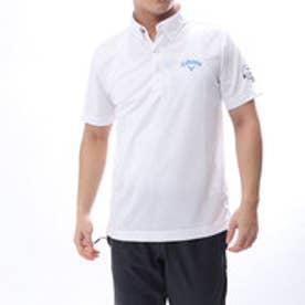 キャロウェイ Callaway メンズ ゴルフ 半袖 シャツ ヤシ柄ジャカードシャツ 2418157518