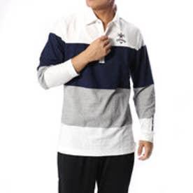 キャロウェイ Callaway メンズ ゴルフ 長袖シャツ ソシキヘンカボーダーカラーシャツ 2418256502