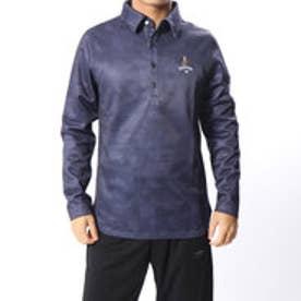 キャロウェイ Callaway メンズ ゴルフ 長袖シャツ パリマッププリントレギュラーカラーシャツ 2418256506