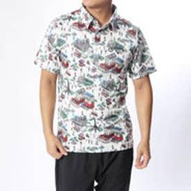 キャロウェイ Callaway メンズ ゴルフ 半袖シャツ デジタルパリプリントレギュラーカラーシャツ 2418257501