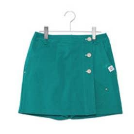 キャロウェイ Callaway レディース ゴルフ スカート 2WAYストレッチ ツイルスカート 2418125814 (グリーン)
