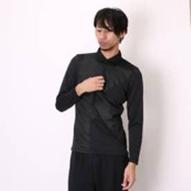 カルバン クライン Calvin Klein ゴルフシャツ ナガソデシヤツ(ニツト) CKM1113 (ブラック)