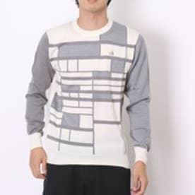 【アウトレット】カルバン クライン Calvin Klein ゴルフセーター  CKM4252 (ホワイト)