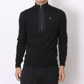 カルバン クライン Calvin Klein ゴルフセーター  CKM4253 (ブラック)