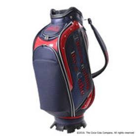 【大型商品180】コカコーラ Coca-Cola メンズ ゴルフ キャディバッグ メンズ9型キャディバッグ 0231271716