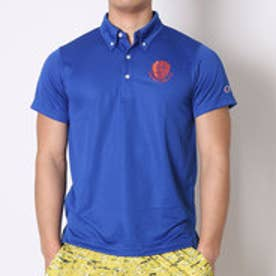 チャンピオン Champion バスケットボールTシャツ プラクティスPOLO C3-HB306    (ブルー)