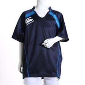 カンタベリー CANTERBURY ジュニアラグビープラクティスシャツ RGJ36055 RGJ36055  (ネイビー×ブルー)