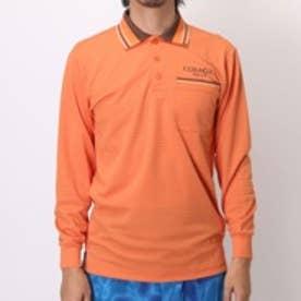 コラッジオ CORAGGIO ゴルフシャツ CR-1L1505P オレンジ (オレンジ)