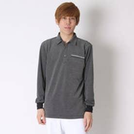 【アウトレット】コラッジオ CORAGGIO ゴルフシャツ  CR-1L1006CSP ブラック (ブラック)