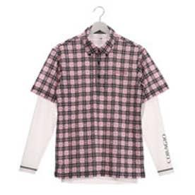 コラッジオ CORAGGIO メンズ ゴルフ セットシャツ CR-1L1007RYB