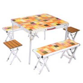 コールマン coleman キャンプ テーブル ナチュラルモザイクファミリーリビングセットプラス 2000026757