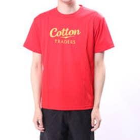 コットン COTTON メンズ ラグビー 半袖シャツ コットントレーダース ロゴ プリントTシャツ CTT-013