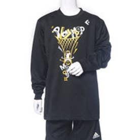 コンバース CONVERSE ジュニア バスケットボール 長袖Tシャツ 7F JRプリントロングスリーブシャツ CB472304L