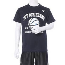 コンバース CONVERSE ジュニア バスケットボール 半袖Tシャツ 8S JRプリントTシャツ CB481302