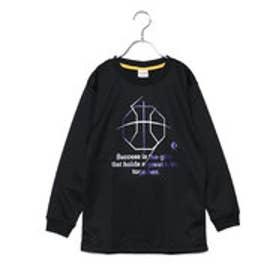 コンバース CONVERSE ジュニア バスケットボール 長袖Tシャツ 8F Jr.プリントロングスリーブシャツ CB482305L