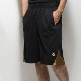 【アウトレット】コンバース CONVERSE バスケットボールプラクティスパンツ ゴールドシリーズ(ポケット付) CBG252806 ブラック (ブラック)
