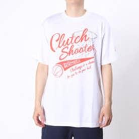 コンバース CONVERSE バスケットボールTシャツ プリントTシャツ CB261310    (ホワイト×シャーロット)