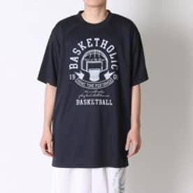 コンバース CONVERSE バスケットボールTシャツ プリントTシャツ CB261308    (ネイビー)