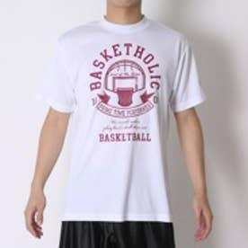コンバース CONVERSE バスケットボールTシャツ プリントTシャツ CB261308    (ホワイト)