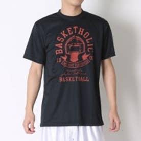 コンバース CONVERSE バスケットボールTシャツ プリントTシャツ CB261308    (ブラック×シャーロット)